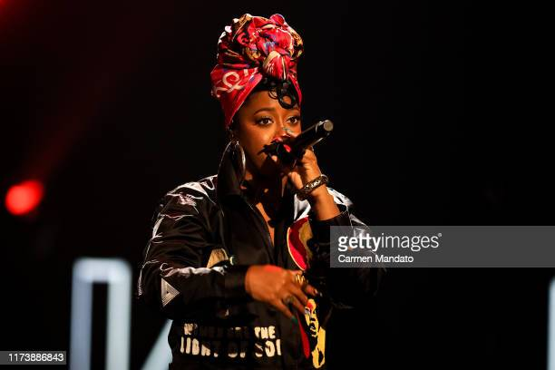 Rapsody performs onstage at the BET Hip Hop Awards 2019 at Cobb Energy Center on October 5 2019 in Atlanta Georgia