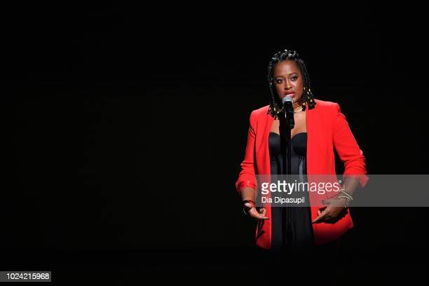 Rapsody performs onstage during the Black Girls Rock 2018 Show at NJPAC on August 26 2018 in Newark New Jersey