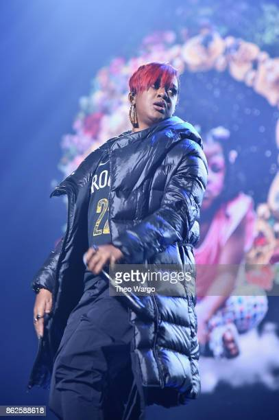 Rapsody performs onstage during TIDAL X Brooklyn at Barclays Center of Brooklyn on October 17 2017 in New York City