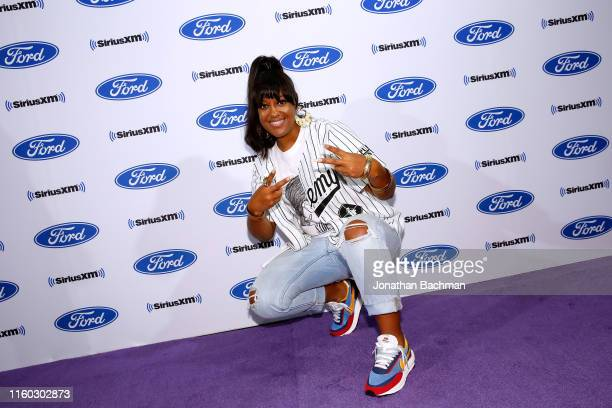 Rapsody poses during SiriusXM's Radio Andy Channel Broadcast from Essence Festival at Ernest N Morial Convention Center on July 05 2019 in New...