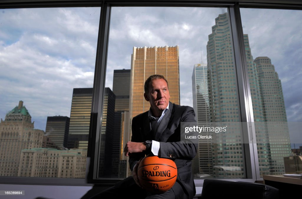 Raptor President and CEO, Bryan Colangelo, photographed in his office at the Ait Canada Centre in do : News Photo