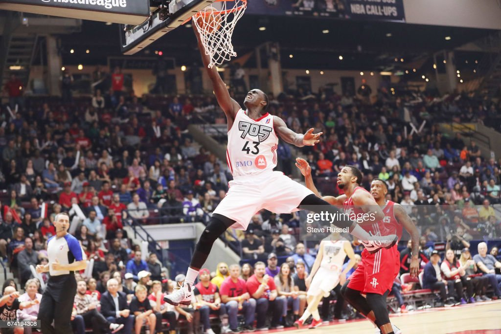 Raptors 905 beat the Rio Grande Valley Vipers 122-96 to win theNBA D-League championship : News Photo