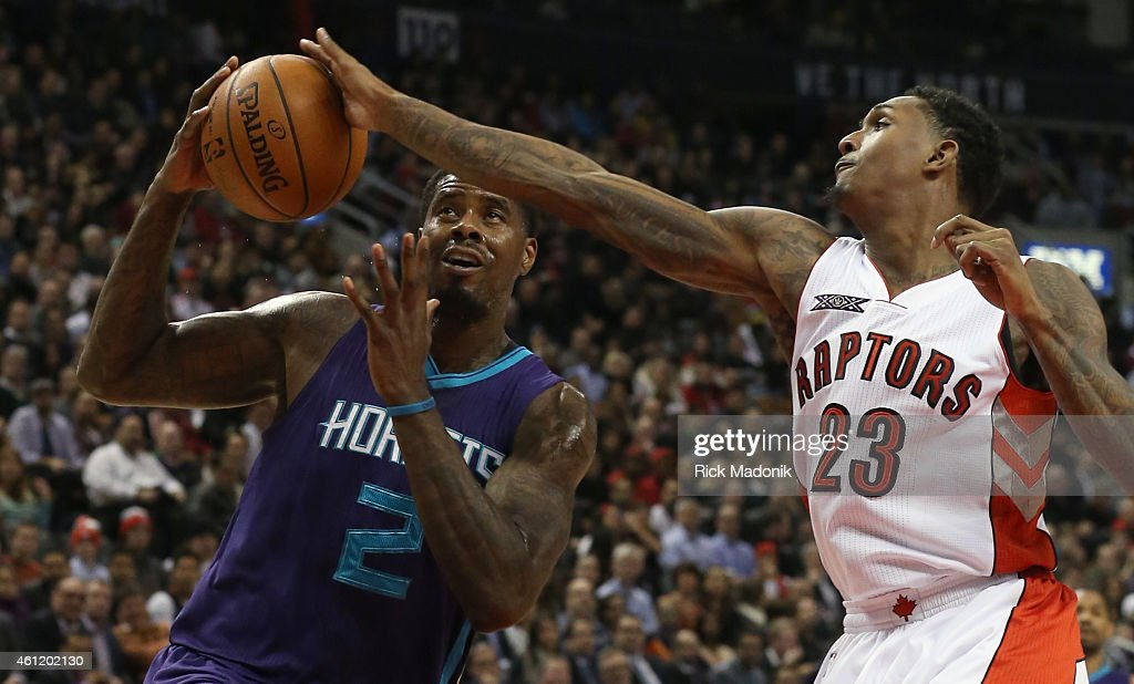 Toronto Raptors vs Charlotte Hornets : News Photo