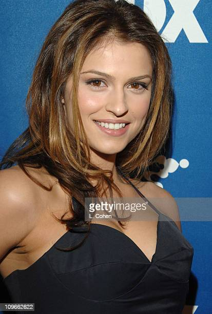 Raquel Alessi during The Fox All-Star Winter 2007 TCA Press Tour Party - Red Carpet and Inside at Villa Sorriso in Pasadena, California, United...