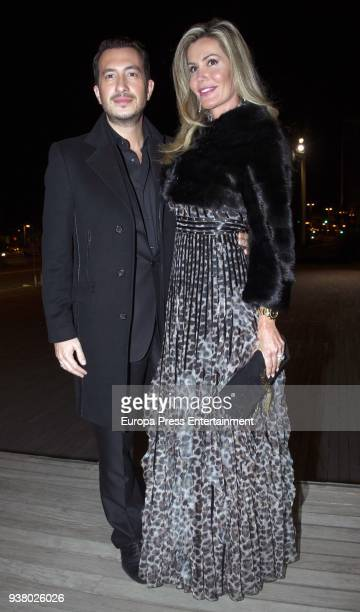 Raquel Bernal attends Gala Dinner of Lagrimas and Favores Foundation during Holy Week celebration on March 23 2018 in Malaga Spain