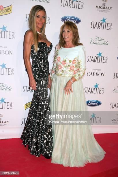Raquel Bernal attends Starlite Gala on August 13 2017 in Marbella Spain