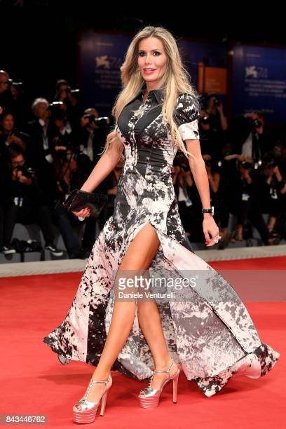 Raquel Bernal walks the red carpet ahead of the 'Loving Pablo' screening during the 74th Venice Film Festival at Sala Grande on September 6 2017 in...