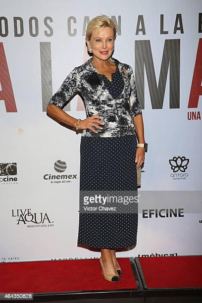 Raquel Bessudo attends A La Mala Mexico City premiere at Cinepolis Antara Polanco on February 24 2015 in Mexico City Mexico