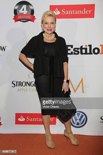Raquel Bessudo attends the EstiloDF 4th Anniversary at Aqua Bosques hotel on December 2 2014 in Mexico City Mexico