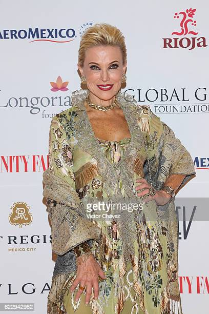 Raquel Bessudo attends the Global Gift Gala Mexico City at Torre Virrelles on November 12 2016 in Mexico City Mexico