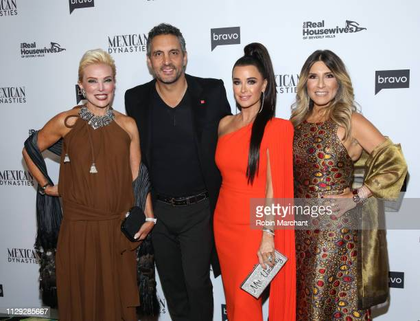 Raquel Bessudo Mauricio Umansky Kyle Richards and Doris Bessudo attend Bravo's Premiere Party for The Real Housewives of Beverly Hills Season 9 and...