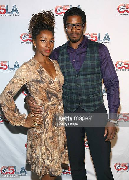 Raquel Best and actor Ahmed Best attend C5LA Inspire The Dream at Tiato on October 25 2012 in Santa Monica California