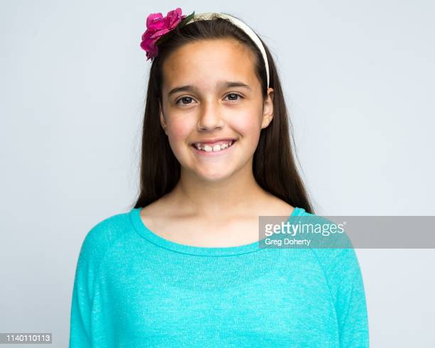 Raquel Brogmus attends the Kids Against Animal Cruelty visit to TAP The Artists Project on April 28 2019 in Los Angeles California