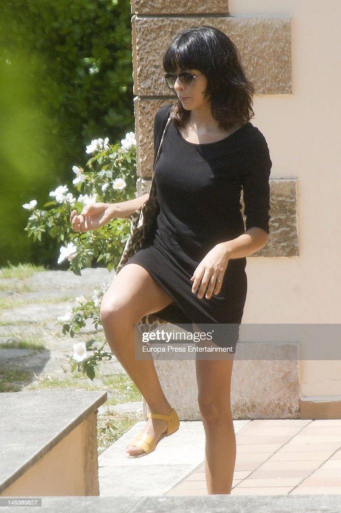 Raquel del Rosario Sighting In Madrid - May 25, 2012
