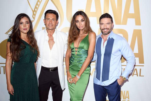 Raquel Flores, Fernando Colunga, Madalina Ghenea and Julián Gil attends Cana Dorada Film & Music Festival - Soft Opening: Dominican Night on January...