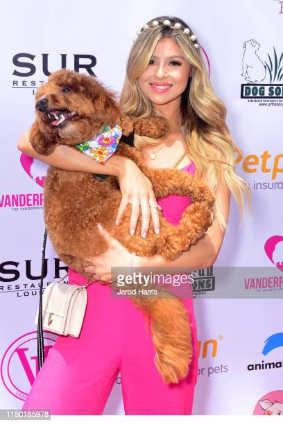 Raquel Leviss attends 4th Annual World Dog Day at West Hollywood Park on May 18, 2019 in West Hollywood, California.