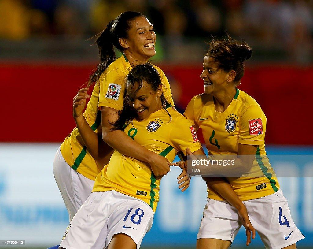Costa Rica v Brazil: Group E - FIFA Women's World Cup 2015 : News Photo