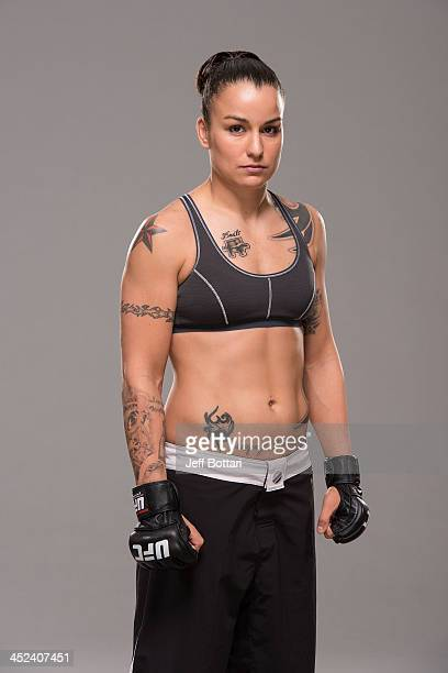 Raquel Pennington poses for a portrait on November 27 2013 in Las Vegas Nevada