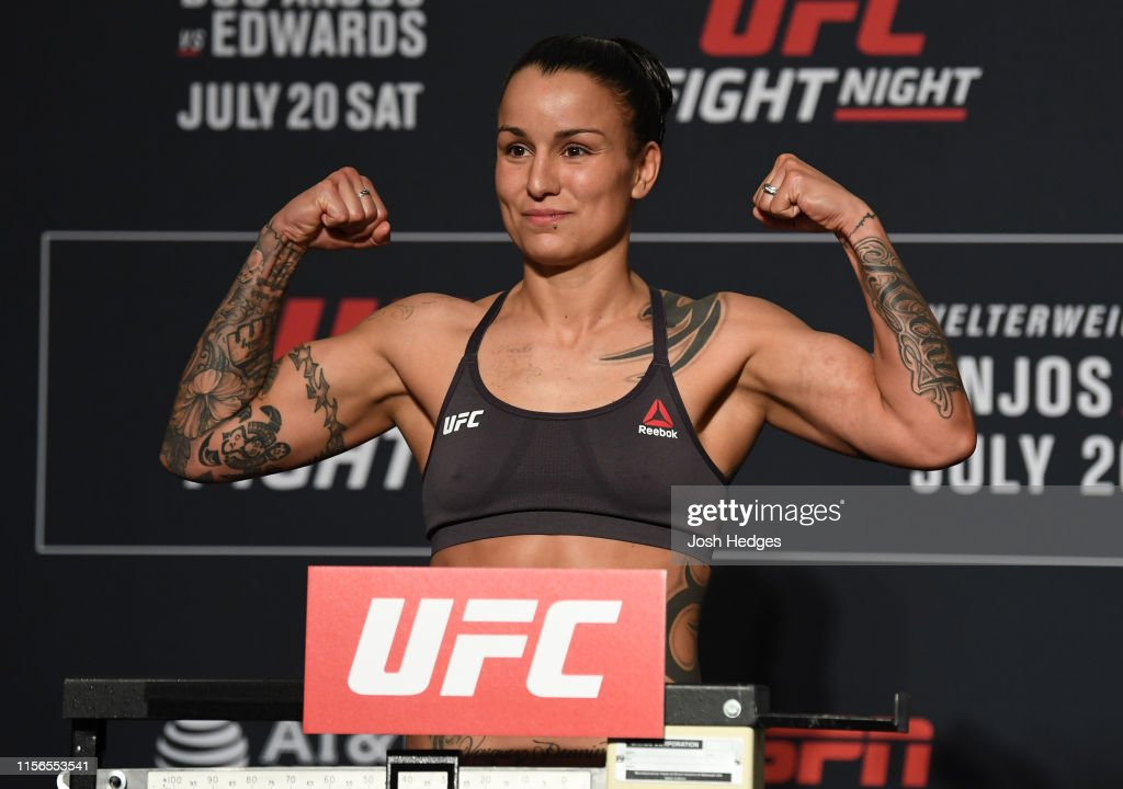 UFC Fight Night: Weigh-ins : Fotografía de noticias