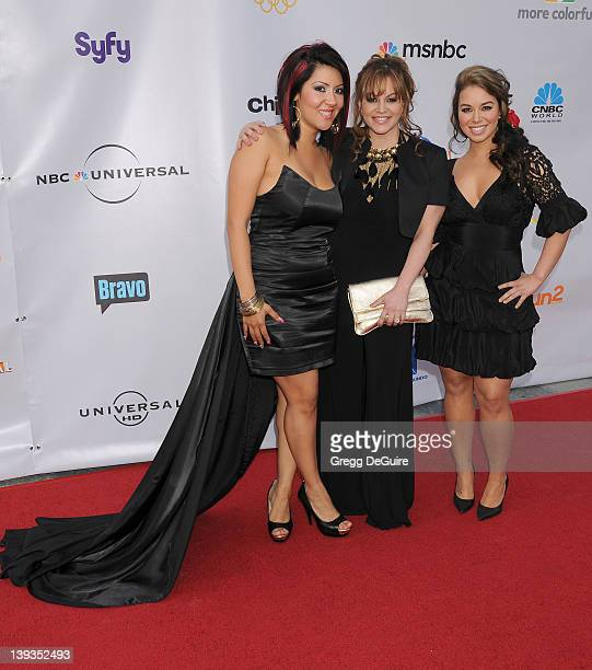 Raquel 'RaqC' Cordova Jenni Rivera and Janney'Chiquis' Marin arrive at The Cable Show 2010 to Feature An Evening with NBC at Universal Studios...