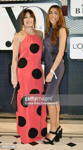 Raquel Revuelta and Claudia Jimenez attends the 'Yo Dona' party at Only You Hotel Atocha on January 23 2018 in Madrid Spain