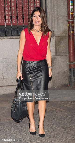 Raquel Revuelta attends Glint Agency launch party on November 18 2014 in Madrid Spain