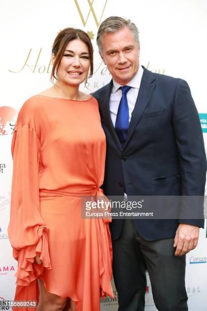 Raquel Revuelta attends Hotel Wellington Summer Party on June 13 2019 in Madrid Spain