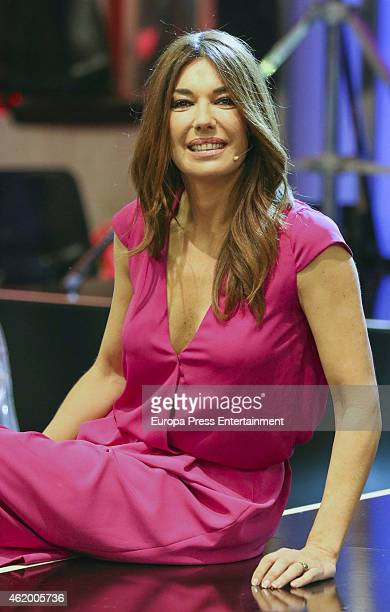 Raquel Revuelta attends 'Salvame Fashion Week' on January 22 2015 in Madrid Spain
