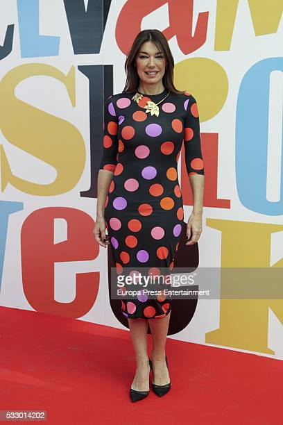 Raquel Revuelta attends 'Salvame Fashion Week' on May 19 2016 in Madrid Spain