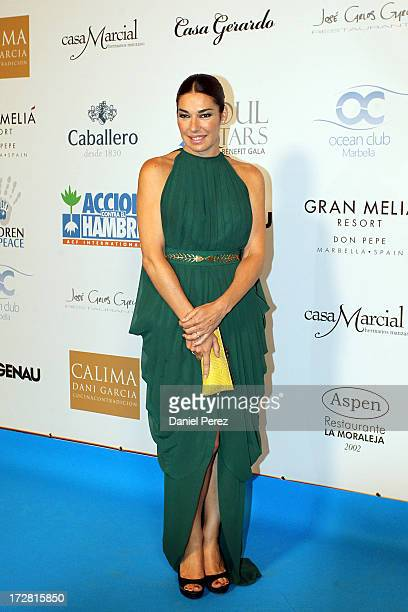 Raquel Revuelta attends Soul Stars Gala By The Children for Peace ONLUS with Action Against Hunger on July 4 2013 in Marbella Spain