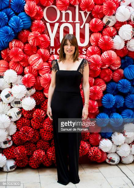 Raquel Revuelta attends the 'Ole You' party in Madrid on April 4 2018 in Madrid Spain