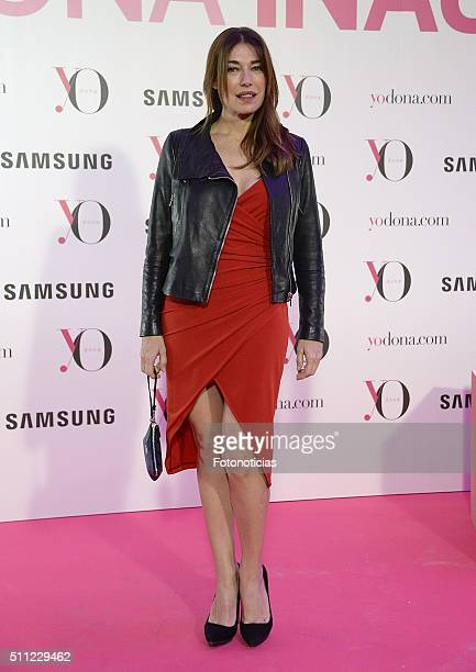 Raquel Revuelta attends the 'Yo Dona' Party MercedesBenz Madrid Fashion Week Autumn/Winter 2016/2017 at the NH Eurobuilding Hotel on February 18 2016...