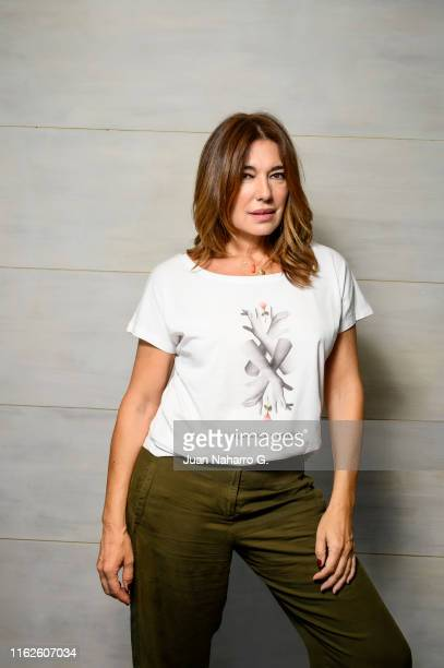 Raquel Revuelta poses during a portrait session on July 17 2019 in Madrid Spain