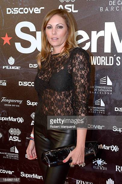 Raquel Rodriguez attends a photocall for the 'Supermartxe' inauguration at the Palau de Congressos de Catalunya on October 27 2012 in Barcelona Spain