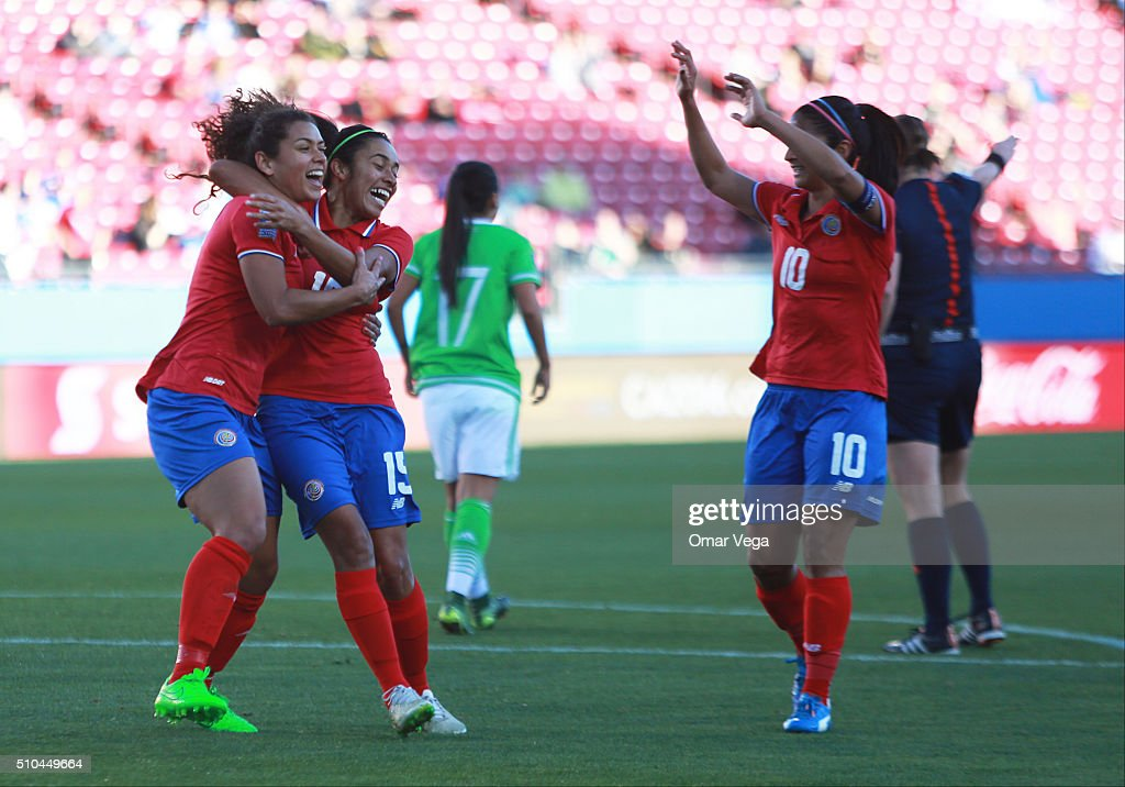 Mexico v Costa Rica: Group A - 2016 CONCACAF Women's Olympic Qualifying