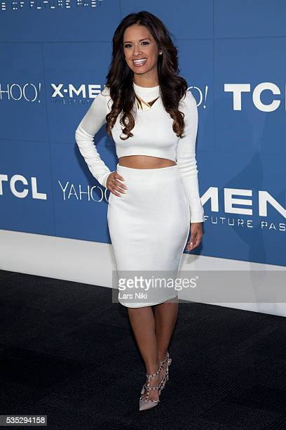 """Raquel Roxanne Diaz attends the """"X-Men: Days of Future Past"""" global premiere at Jacob K. Javits Convention Center in New York City. © LAN"""