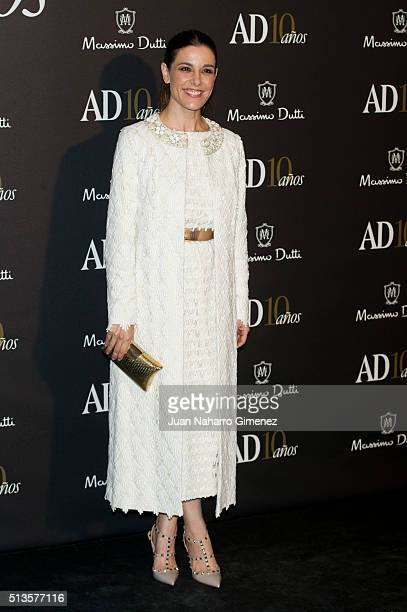 Raquel Sanchez Silva attends 'AD Awards' at Ritz Hotel on March 3 2016 in Madrid Spain