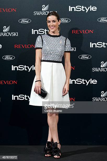 Raquel Sanchez Silva attends the In Style Magazine 10th Anniversary party at the Melia Fenix Hotel on October 21 2014 in Madrid Spain