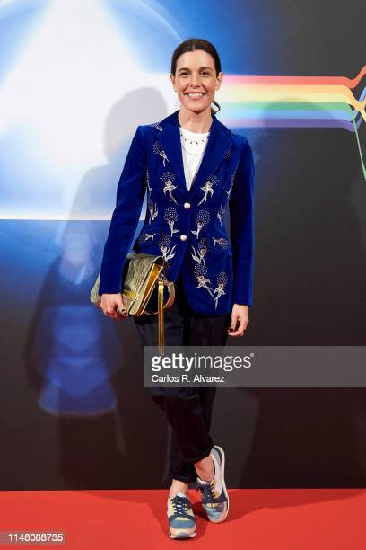 Raquel Sanchez Silva attends 'The Pink Floyd Exhibition Their Mortal Remains' inauguration at Ifema on May 09 2019 in Madrid Spain