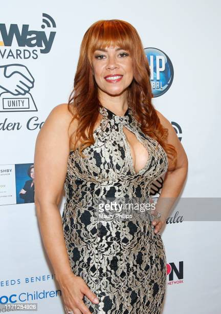 Raquel Sharper attends the eZWay Awards Golden Gala at Center Club Orange County on August 30 2019 in Costa Mesa California