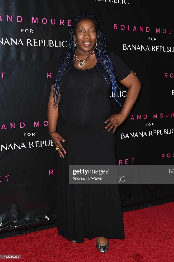 Raquel Smith attends the Roland Mouret for Banana Republic Collection Launch on August 5, 2014 at White Street Restaurant in New York City.