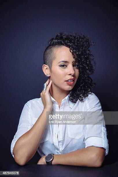 Raquel Sofia poses for a portraits at the 2015 Billboard Latin Music Conference for Billboard Magazine on April 29 2015 in Miami Florida