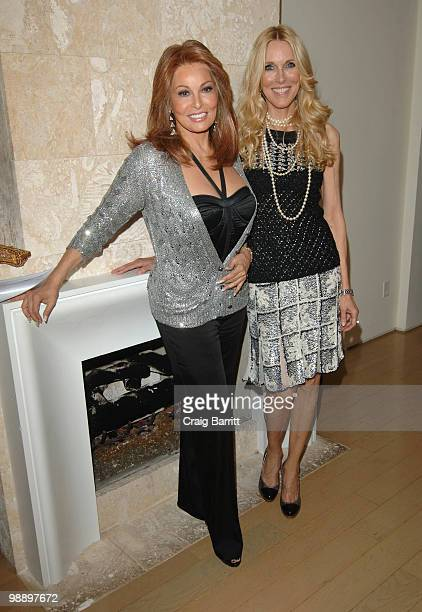 Raquel Welch and Alana Stewart at Raquel Welch 'Beyond The Cleavage' Book Party Hosted By Alana Stewart at Oscar de La Renta Boutique on May 6 2010...