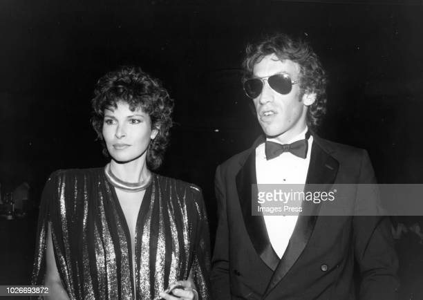 Raquel Welch and Andre Weinfeld circa 1981 in New York City