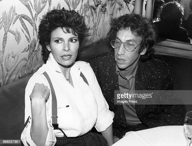 Raquel Welch and Andre Weinfeld circa 1984 in New York City