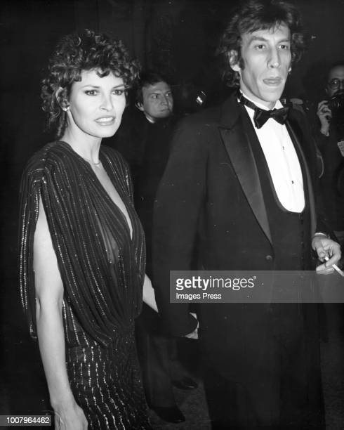 Raquel Welch and Andre Weinfeld circa 1984 in New York