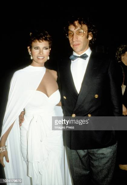 Raquel Welch and Andre Weinfeld circa 1985 in New York