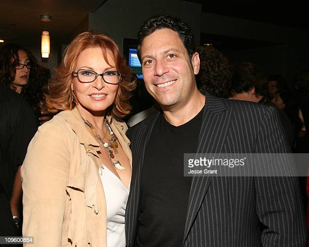 Raquel Welch and Darren Star during 'Boynton Beach Club' Los Angeles Premiere After Party at Pacific Design Center in West Hollywood California...