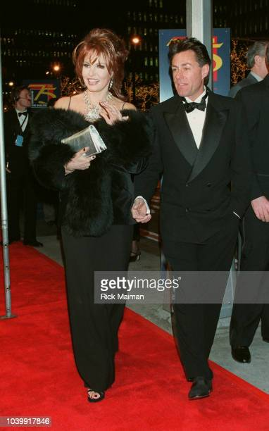 Raquel Welch and her friend arrive at the Radio City Music Hall