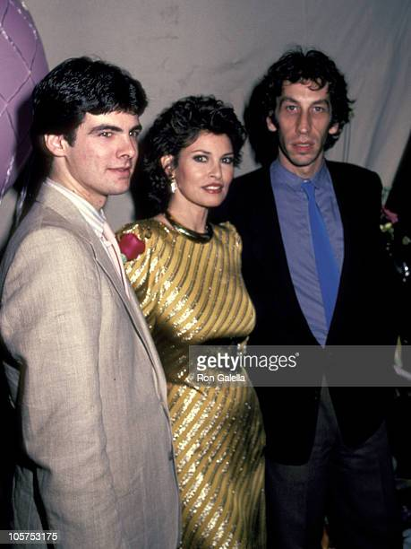 Raquel Welch and Husband Andre Weinfeld and Her Son Damon Welch